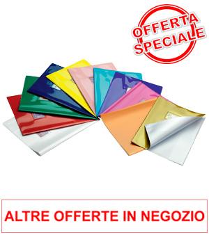 Offerta Copertine pesanti coprilibri adesive a Euro 0.59