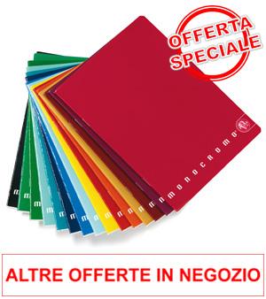Offerta Quadernoni Monocromo o Tinta unita Fabriano a Euro 0.79