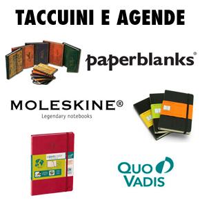 Taccuini-e-agende-Paperblanks-Moleskine-Quovadis